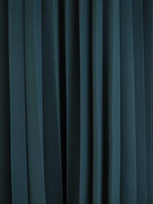 Rozkloszowana sukienka z szyfonu, kreacja z plisowaną spódnicą 30068