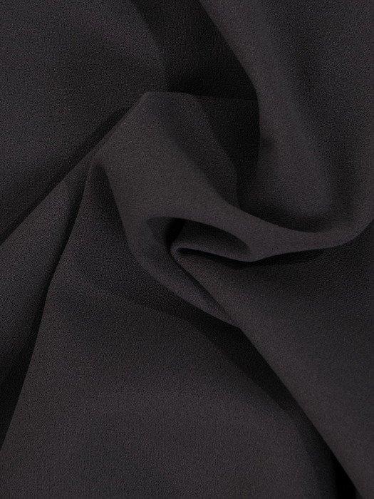Sukienka 2w1 18721, elegancka szara kreacja z krótkim bolerkiem.