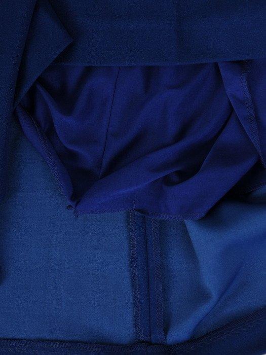 Sukienka damska 19327, chabrowa kreacja w modnym fasonie.