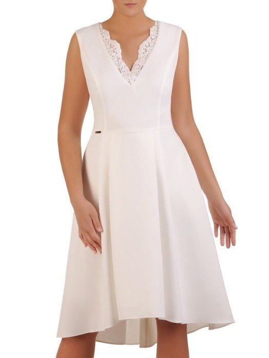Sukienka damska Adrietta II, elegancka kreacja na wesele.
