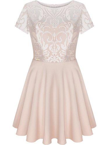 Sukienka damska Anisa, elegancka kreacja na wesele.