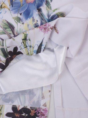 Sukienka damska Bewerli II, wiosenna kreacja w kwiaty.
