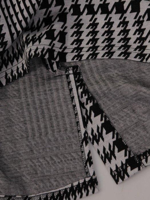 Sukienka damska Dalida VIII, jesienna kreacja w pepitkę.