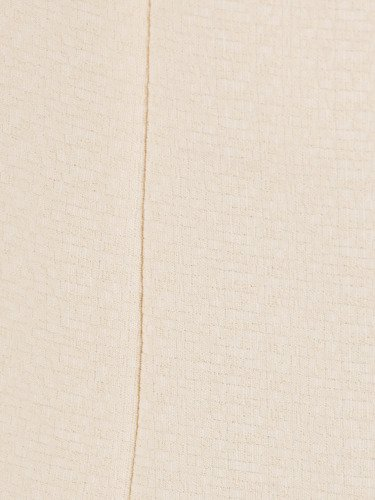 Sukienka damska Despina IV, prosta kreacja w kremowym kolorze.