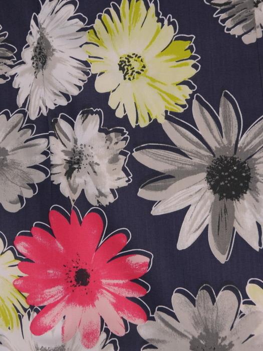 Sukienka damska Edwina I, wiosenna kreacja w kwiaty.