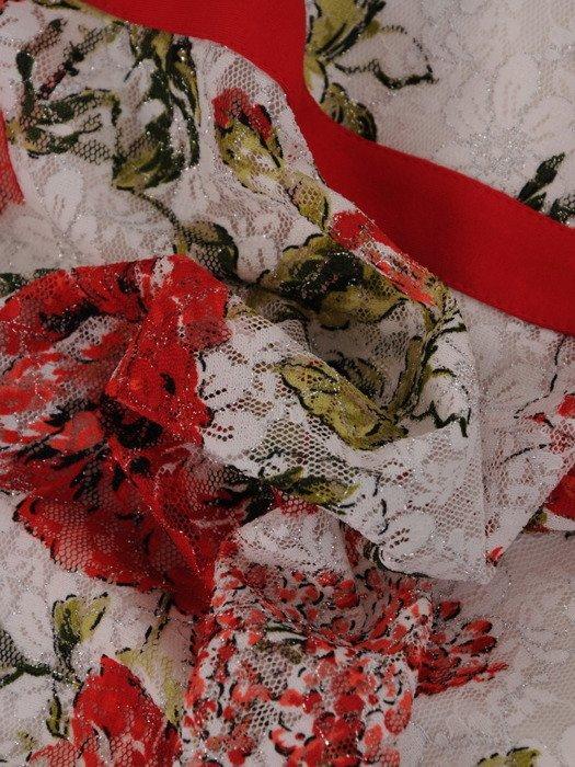 Sukienka damska Erazma, wiosenna kreacja w kwiaty.