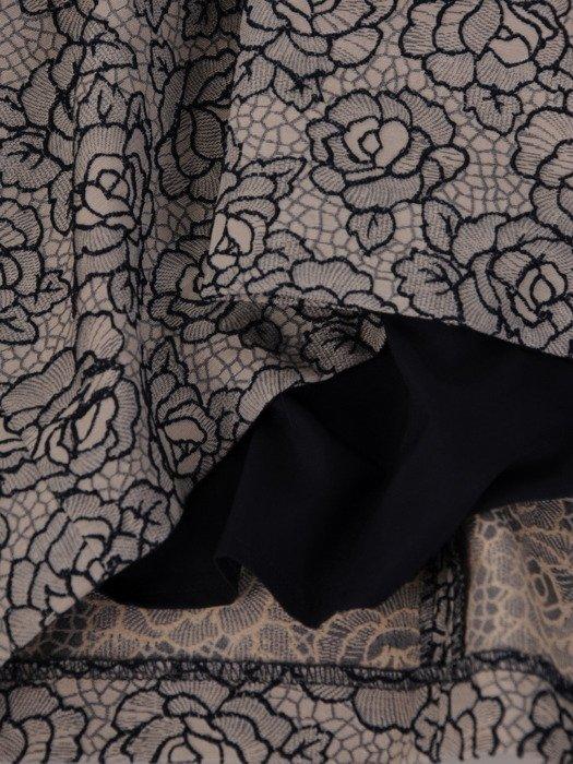 Sukienka damska Gaga, jesienna kreacja wizytowa.