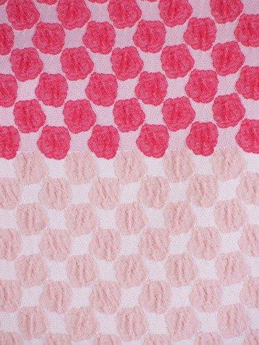 Sukienka damska Gilberta, wiosenna kreacja z żakardowej tkaniny.