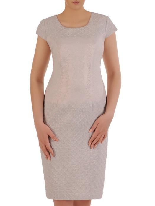 Sukienka damska Rositta I, elegancka kreacja na wesele.