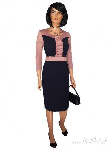 Sukienka damska Wanda, oryginalna kreacja na jesień.