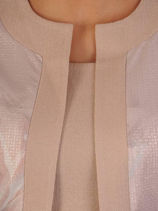 Sukienka damska z tkaniny, kreacja z imitacją żakietu 28666