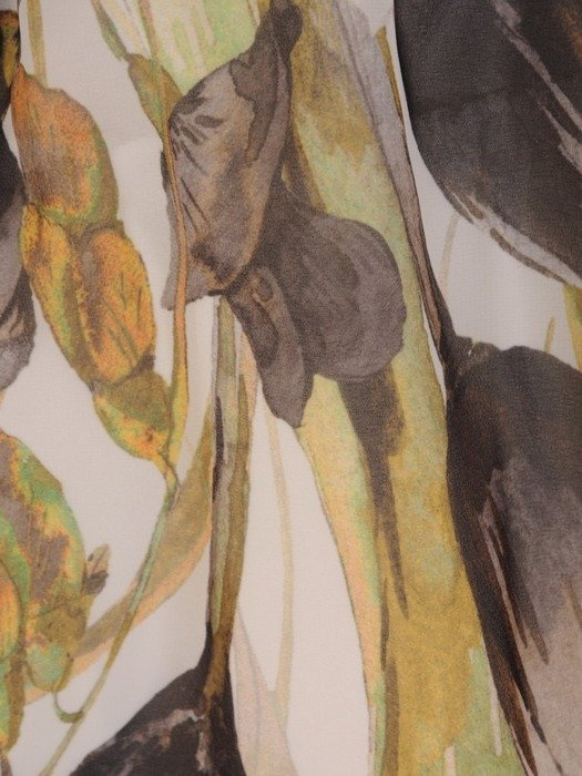Sukienka koktajlowa, rozkloszowana kreacja z szyfonu 25975