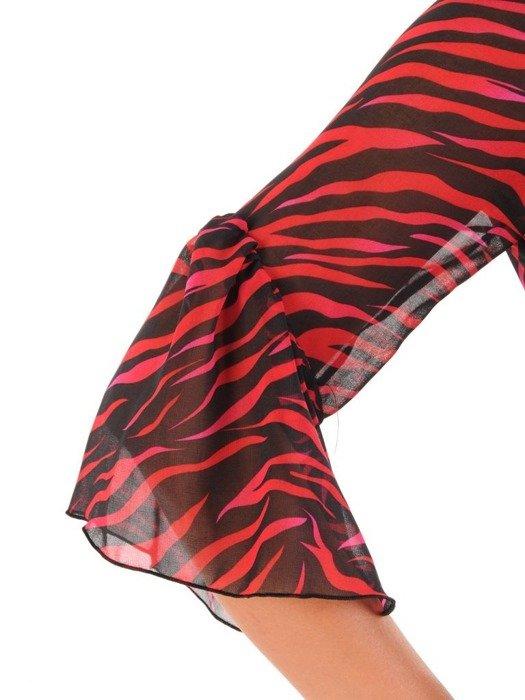 Sukienka letnia, zwiewna kreacja w nowoczesnym wzorze 26782