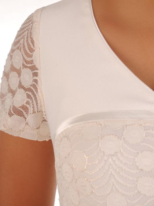 Sukienka na wesele, elegancka kreacja z koronki 21185.