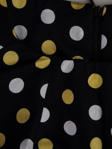 Sukienka tuba Mirona XX, wyszczuplająca kreacja maskująca brzuch.