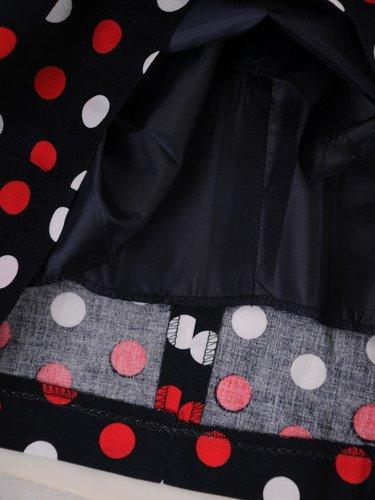 Sukienka tuba Mirona XXI, wyszczuplająca kreacja maskująca brzuch.