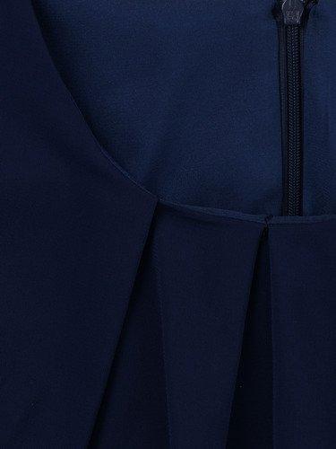 Sukienka warstwowa Lupita I, kreacja wyszczuplająca z szyfonu.