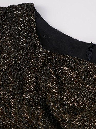 Sukienka wieczorowa Rosita, elegancka kreacja z dekoltem typu woda.
