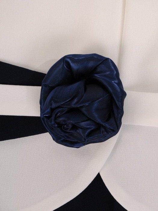 Sukienka wyjściowa, elegancka kreacja wyszczuplająca 25828
