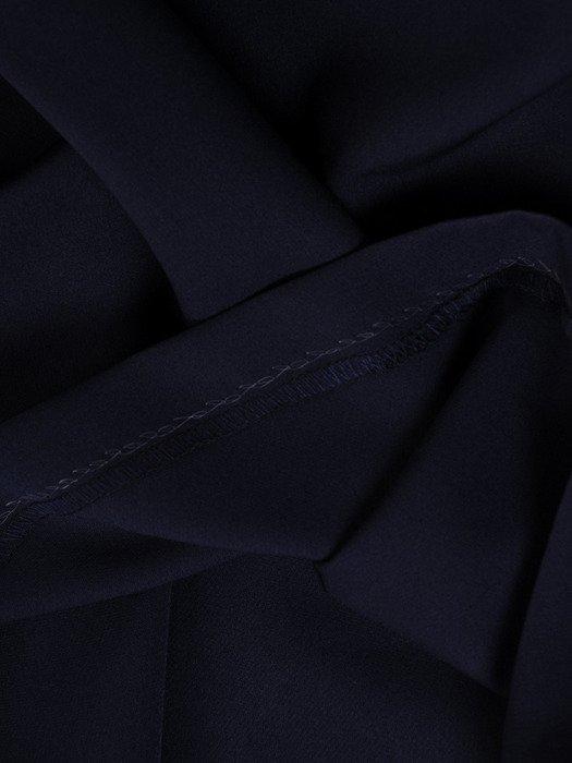 Sukienka wyjściowa, elegancka kreacja z koronki i tkaniny 19818.