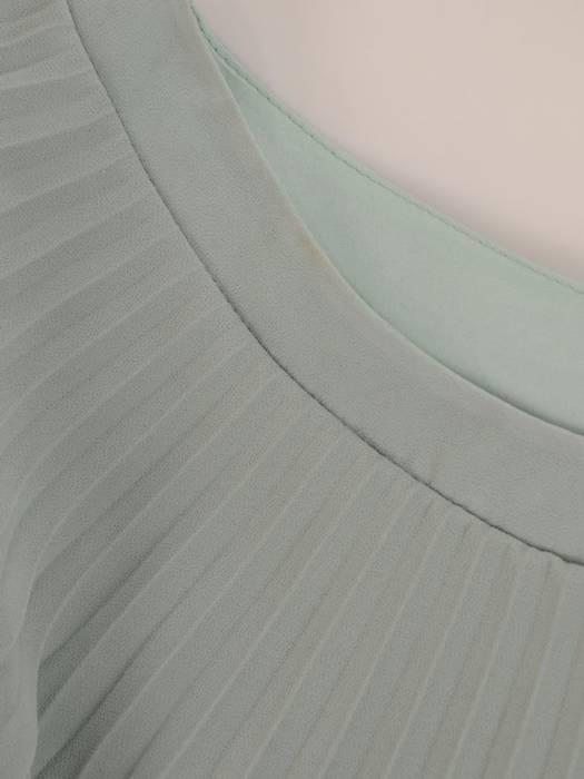 Sukienka wyjściowa, oliwkowa kreacja w nowoczesnym fasonie 26404