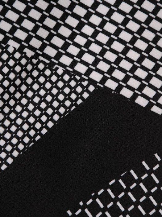 Sukienka wyszczuplająca, elegancka kreacja z tkaniny 19823.