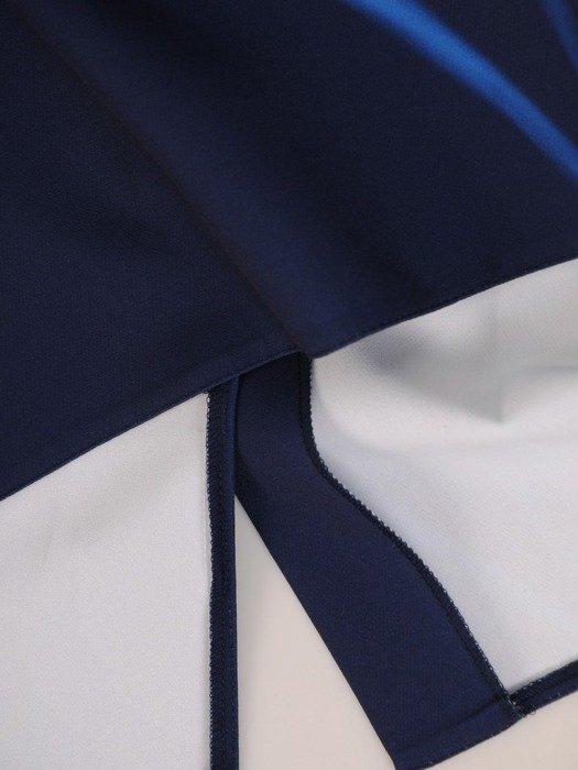 Sukienka wyszczuplająca, prosta kreacja z tkaniny 25642