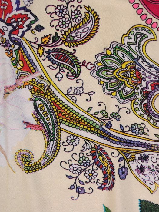 Sukienka z dzianiny, kolorowa kreacja na wiosnę 19813.