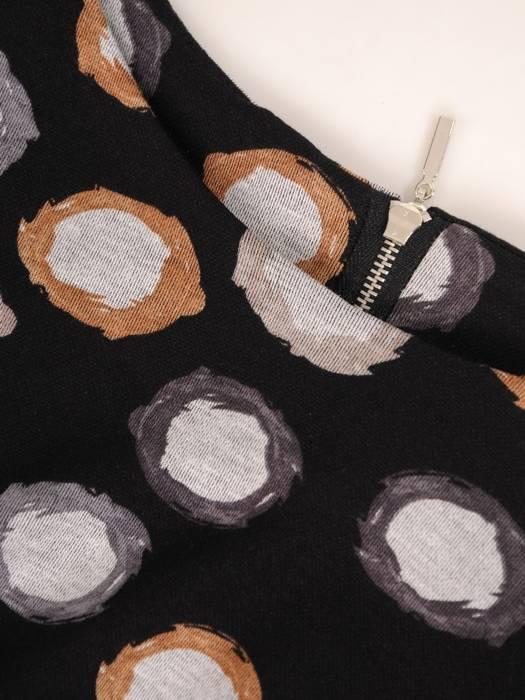 Sukienka z dzianiny, prosta kreacja na jesień 27565