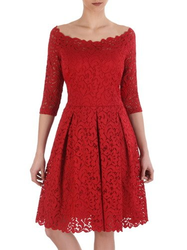 Sukienka z koronki Klerisa I, elegancka kreacja na wesele.