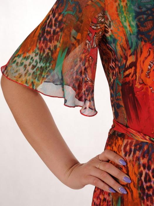 Sukienka z szyfonu, zwiewna kreacja na wiosnę, lato 20501.
