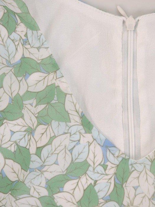 Sukienka z szyfonu, zwiewna kreacja z falbanami 25672