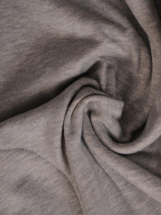 Szara tunika z atrakcyjnym dekoltem Loretta.