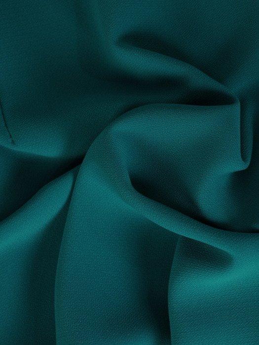 Szmaragdowa sukienka, elegancka kreacja z modnymi rękawami 20047.