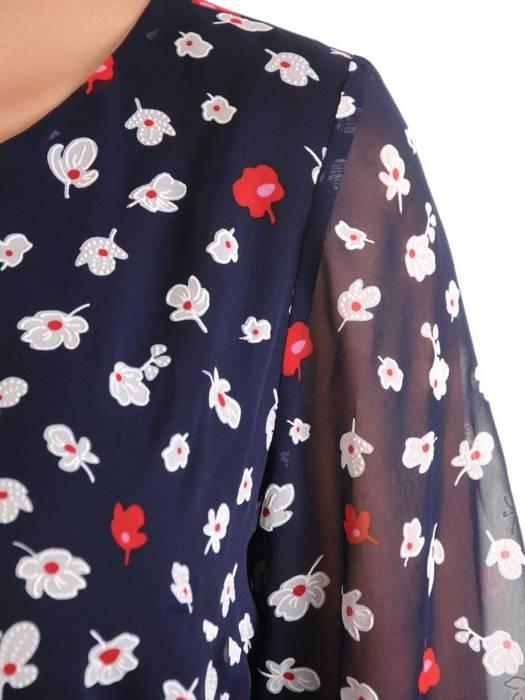 Szyfonowa bluzka w kwiaty 29602