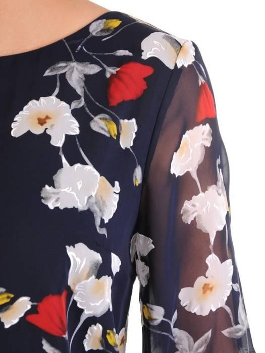 Szyfonowa bluzka w kwiaty 29603
