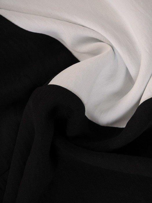 Tunika z tkaniny o luźnym fasonie 24703