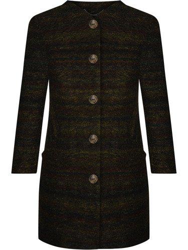 Wełniany płaszcz z odpinanym kołnierzem Bianka VI.