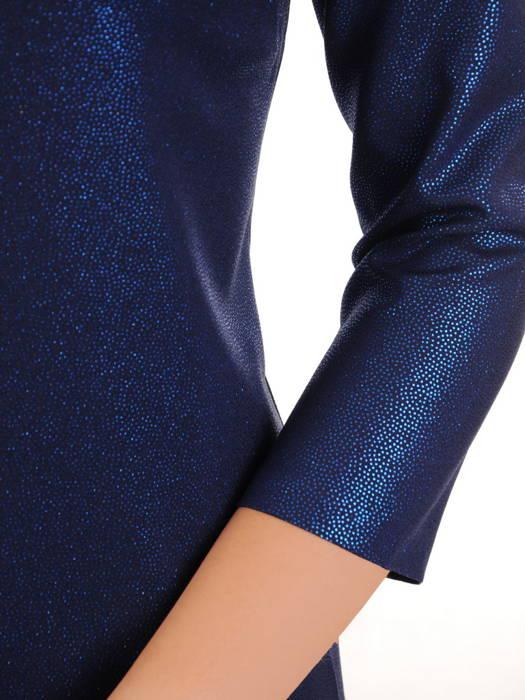 Wizytowa sukienka z efektownej, połyskującej tkaniny 31238