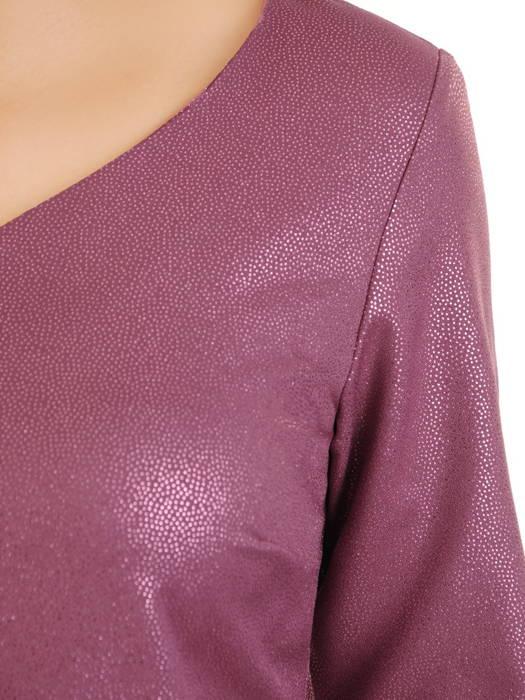 Wizytowa sukienka z efektownej, połyskującej tkaniny 31239