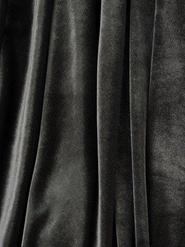 Wyszczuplająca sukienka z aksamitu 14876, piękna kreacja o klasycznym kroju.