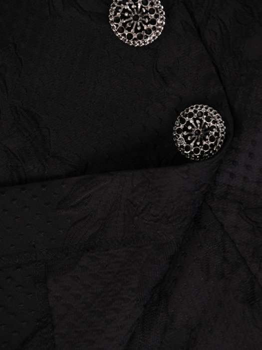 Żakardowa spódnica z ozdobnymi broszkami Jolenta III.