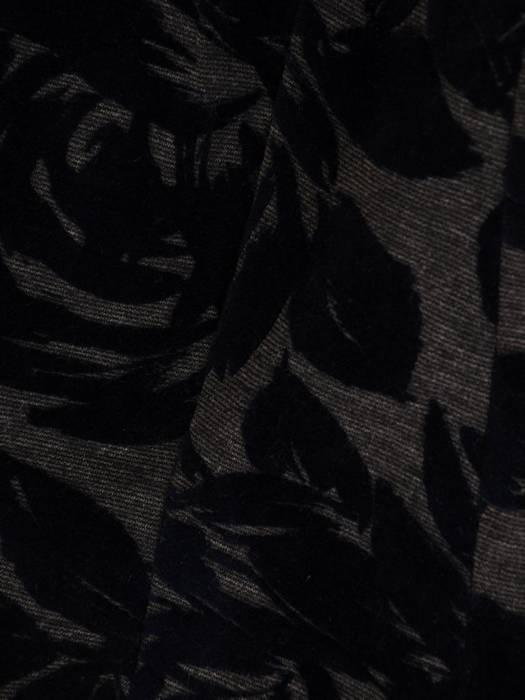 Żakiet damski z wytłaczanym wzorem 27021