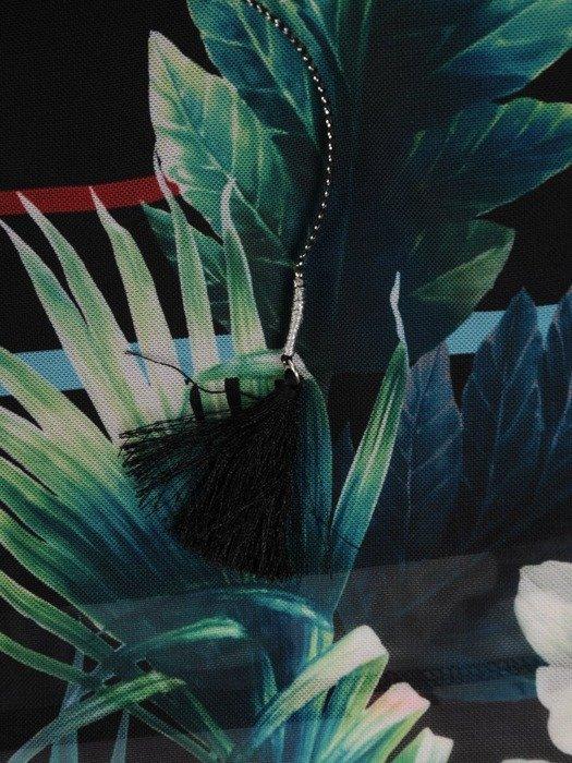 Zwiewna tunika w kwiatowy wzór 25371