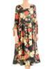 Sukienka damska, wizytowa kreacja w luźnym fasonie 29527