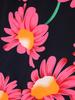 Suknia kopertowa, wyjściowa kreacja w kwiaty 30789