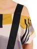 Bawełniana sukienka z kieszeniami, kreacja z modnymi szelkami 30081