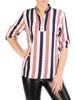 Bluzka koszulowa ze stójką 29183