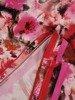 Bluzka z dzianiny w kwiaty 26176