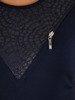 Bluzka z ozdobnymi suwakami Erazma IV.